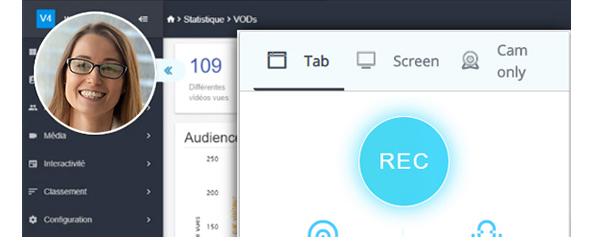 ScreenCast</br>pour les webinars